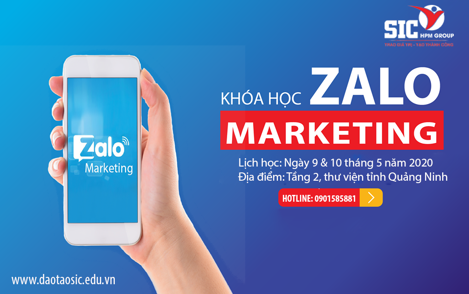 Chương trình đào tạo: Zalo Marketing Thực Chiến