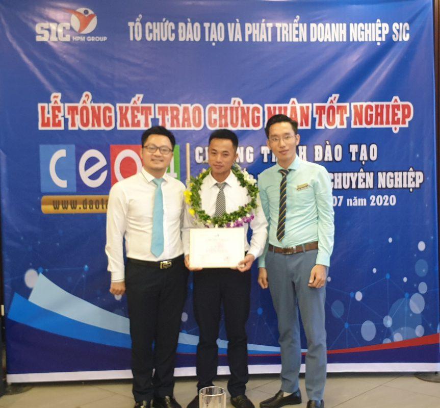 SIC tổ chức Lễ tổng kết lớp CEO 05 - Giám đốc điều hành chuyên nghiệp 10