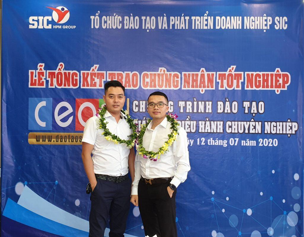 SIC tổ chức Lễ tổng kết lớp CEO 05 - Giám đốc điều hành chuyên nghiệp 12
